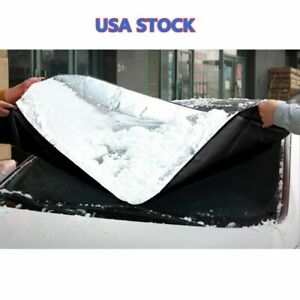 Windshield Cover Snow Ice For Car Frost Guard Winter Protector Auto Osculum Type