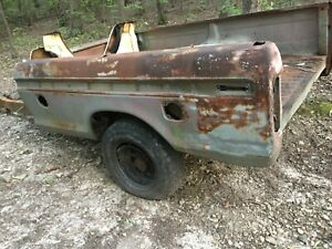 1973 1979 Ford Truck Long Wheel Base Bed Box Dual Tanks Tool Box 1975 1976 1977