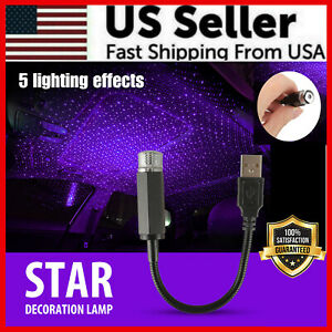 Sky Projector Starry Starry Sky Lights Led Lamp Star Usb Car Interior Atmosphere