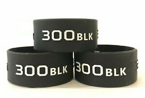 Ammo Bands 300 BlackOut. Magazine ID Band. Sold in Pack of 3 $7.99