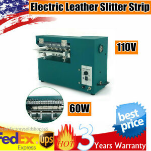 110v Leather Slitter Cutting Machine Shoe Bags Cutter Slitting Machine 60w usa