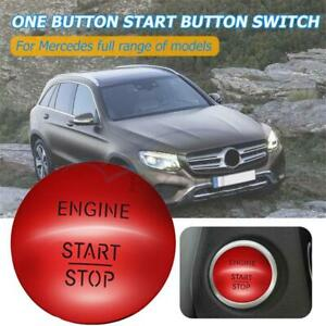 2215450514 For Mercedes benz Engine Keyless Start stop Push Button Switch Red