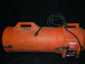 Allegro 9533 Com pax ial Confined Space Ventilation Blower W 15ft Ducting