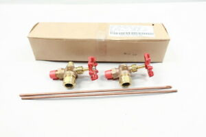 Set Of Conbraco 20 101 00 Brass Water Gauge Valve 3 8in