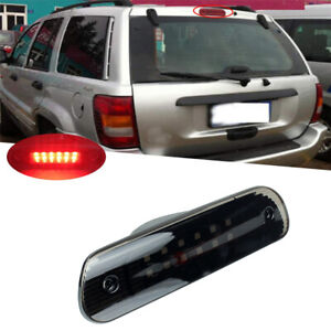 Red Led 3rd Third Brake Light Rear Tail Lamp For Jeep Grand Cherokee 1999 2004