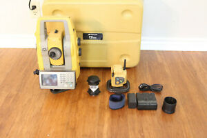 Topcon Ps 103a 3 Robotic Total Station With Rc 5 Prism