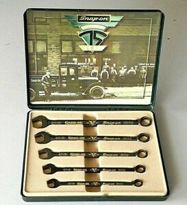 1995 Snap on Limited Edition 75th Anniversary Wrench Set