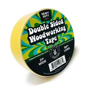 Double Stick Tape For Woodworking 2 Inch Wide Wood Tape Double Sided For Wo