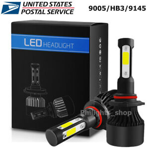 4 Side 9005 Hb3 Led Headlight 200w 13000lm H10 Fog Lights 9145 Kit Cree 6000k