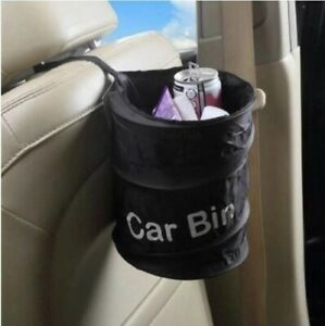 1pcs Car Trash Bin Garbage Can Foldable Bag Organizer For Vehicles Leak Proof M6