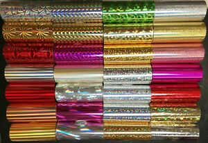 Kingsley Hot Stamp Holographic Foil 3 X 95 Order 3 Rolls From 30 Styles