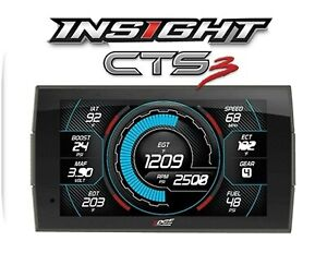 Edge Insight 84130 3 Cts3 Digital Gauge Monitor Fits Gm Ford Dodge