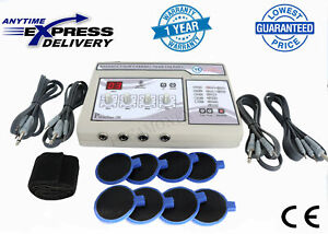 Professional Electrotherapy 4 Channel Physiotherapy Pain Relief Massager Unit Fg