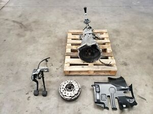 2002 Bmw M3 E46 6 Speed Manual Transmission W Clutch Pedals Tested Lot472 Oem