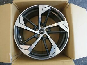 2019 20 Audi Rs5 Oem Trapizoid Design Forged Wheels Bi Color Like New