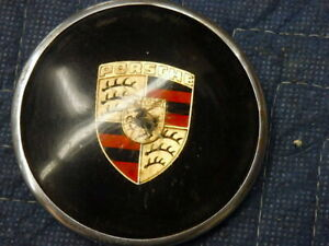 Porsche 356 Genuine Horn Button With Emblem Early Style Nice Condition Rare