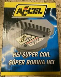 Accel 140003 Gm High Energy Hei Super Coil Red Yellow Chevrolet