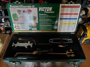 Brand New Victor Oxygen Acetylene Torch Set Model 0384 0834