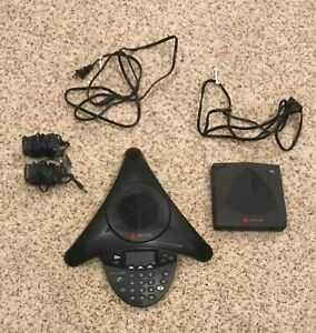 Polycom Soundstation 2w Wireless Conference Phone With Base Receiver