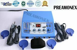 Electrotherapy Physiotherapy 4 Channel Digital Display Therapy Machine Nbt