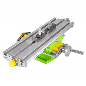 Mini Milling Machine Work Table Vise Portable Compound Bench X y 2 Axis Cross