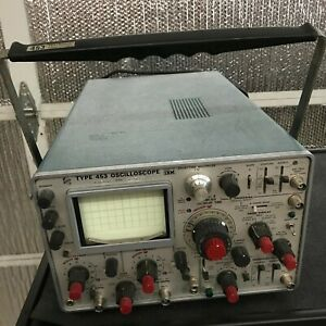 Tektronix Type 453 Two Channel Oscilloscope 50 Mhz