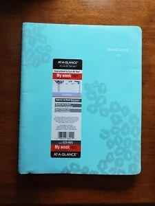 At a glance Wild Washes Weekly monthly Appointment Book No 523 905