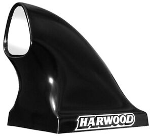 Harwood 21 In Tall Black Fiberglass Dragster Scoop Hood Scoop P N 3159