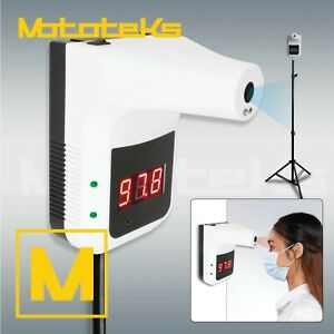 Standing Infrared Thermometer Wall No Touch Digital Laser Temperature Reading
