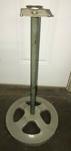 art Deco Ford Gum Single Head Stand Holds Gumball Bulk Candy Vending Machine