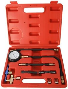 Universal Fuel Injection Pump Pressure Injector Tester Car System Pump Tool Kit