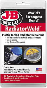 J b Weld 2120 Radiator And Plastic Repair Kit Stops Leaks
