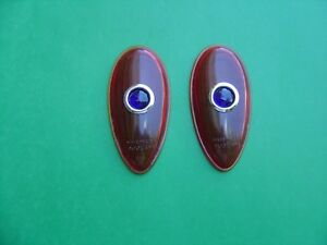 1938 1939 Ford Taillight Lenses With Blue Dot Lens new pair street Rod