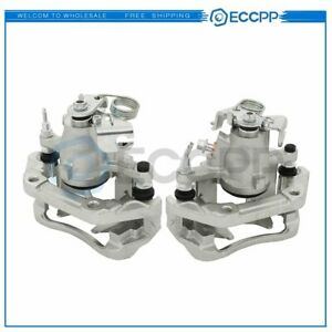 Rear Pair Brake Calipers For Lincoln Mkx Ford Edge 2010 2014