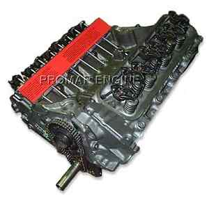 Remanufactured 79 97 Ford 460 Truck Long Block Engine