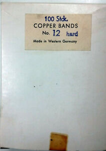 Dental Copper Bands Made In West Germany 12 Hard