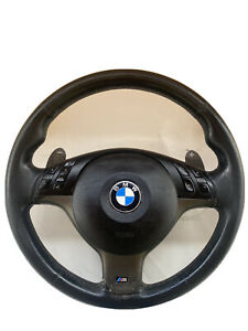 Bmw E46 M3 Smg Steering Wheel With Paddle Shifters 32342282222