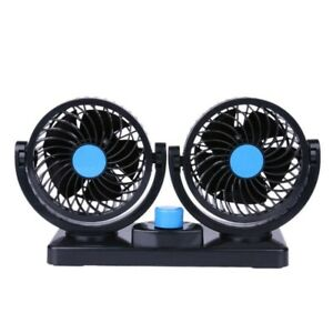 360 Rotate Portable Auto Air Conditioner 12v Mini Car Dash Mounting Cooling Fan