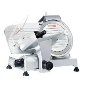 Professional 200 W Silver Electric Meat Slicer
