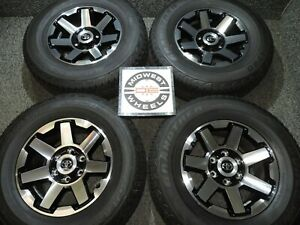 2020 Toyota 4 Runner Trail 17 Wheels Factory Oe P265 70r17 Dunlop At Tires New