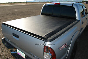 Roll Up Vinyl Tonneau Bed Cover For Nissan Frontier 6 1ft Standard Bed 2005 2020