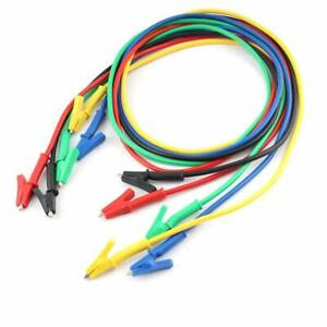 Eiechip Alligator Clips Electrical Alligator Clips With Wires Test Cable Clips
