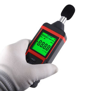 30 130db Digital Sound Level Test Meter Noise Measurement Data Decibel Logging