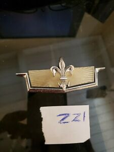Chevy Caprice Classic Roof Side Sail Panel Emblem Oem