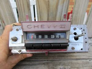 1966 Chevy Ll Radio nova original
