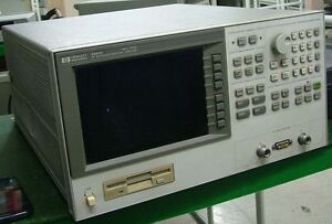 Hp 4291a Impedance Analyzer 1mhz To 1 8ghz With Test Station Head Opt 1c2 1d5