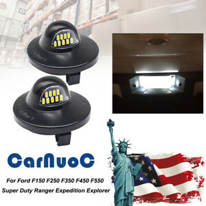 Led License Plate Light Lamp For Ford F 150 F 250 F 350 F 450 Ford Ranger1983 11