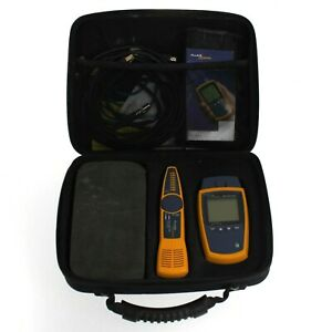Fluke Networks Microscanner 2 With Intellitone Pro 200 Probe And Cable Testers