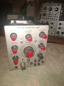 Vintage Tektronix Type 1s1 Sampling Unit Plug In Cool Diy Ham Radio Testing Rare