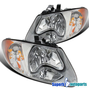 For 2001 2007 Caravan Chrysler Town Counry 2001 2003 Voyager Head Lights Driving